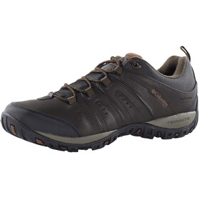 Columbia Woodburn II Shoes Waterproof Men brown/cinnamon